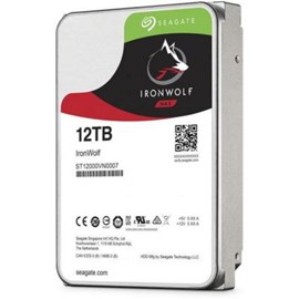 "Seagate IRONWOLF ST12000VN0007 3.5"" 12 TB 7200RPM SATA3 256MB 210MB/S 180TB/Y NAS DİSK"