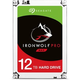"Seagate IRONWOLF PRO ST12000NE0007 3.5"" 12TB 7200RPM 256MB SATA3 HDD (7/24) NAS DİSK"