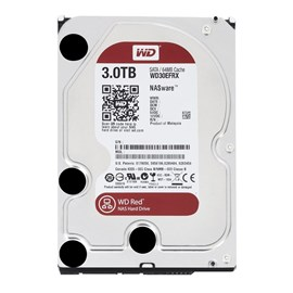 "WD Red 3TB Intellipower 3.5"" Sata3 64MB Cache WD30EFRX 7/24 Nas Disk"