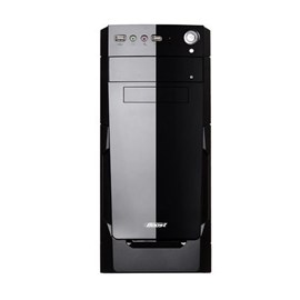 BOOST VK-1623 400W A SGCC 0,45mm Piano Black Midi Tower ATX Kasa