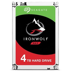 "Seagate 3.5"" IronWolf 4TB 5900RPM 64MB SATA3 180MB/S RV 180TB/Y ST4000VN008 7/24 Nas Disk"