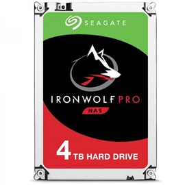 "Seagate 3.5"" IronWolf Pro 4TB 7200RPM 128MB SATA3 128MB 214MB/S ST4000NE0025 7/24 Nas Disk"