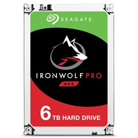 "Seagate 3.5"" IronWolf Pro 6TB 7200RPM 256MB 214MB/S SATA3 ST6000NE0021 7/24 Nas Disk"