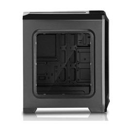 Power Boost Royal Serisi 6x12cm USB 3.0 Mid Tower Mavi Led Fanlı Pencereli Gaming Kasa VK-G1004S