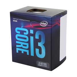 Intel Core i3 8100 3,60 GHz 6MB VGA 1151P