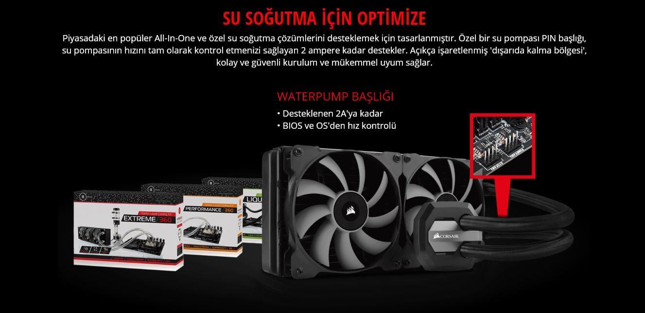 MSI AMD B450 TOMAHAWK B450 Ddr4 3200 Glan AM4 M 2 Sata Usb3 1 Anakart